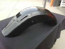 Harley Touring Black Rear Fender for 2009 and Later