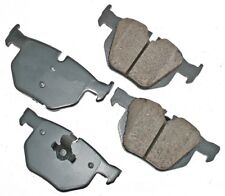 For BMW 525i 528i 528xi 530i 530xi Rear Disc Brake Pads Akebono Euro EUR1042