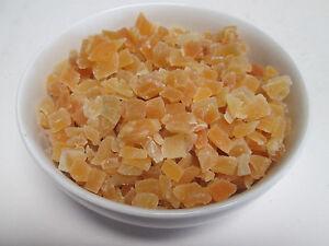 Dried Natural Mango Dices, No added sulfur. Low sugar 5 lb  Greenbulk