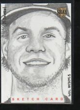 WILL MYERS 2014 SOUTHBAY SBAY SUPERBOX SKETCH CARD 1/1