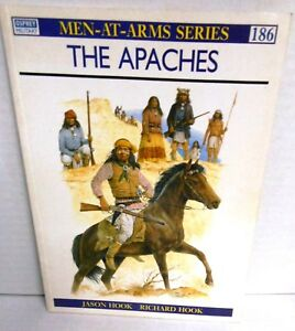 BOOK Men-At-Arms #186 The Apaches op 1989 Ed