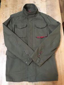 MERC LONDON M65 Jacket Mods Liam Gallagher Parka Military Army Tartan L Oasis
