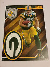 2015 Jordy Nelson GreenBay Packers NFL Fathead Tradeables Football