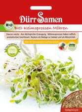 4342 Dürr BIO Keimsprossen Möhren ca.25g süßlich aromatischer Geschmack Samen