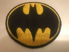 BATMAN EMBROIDERED PATCH SUPER HERO IRON ON OR SEW ON