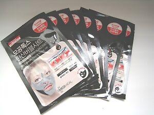 [MediHeal] MOGONG TOX SODA Self Bubble sheet Peeling Mask 18ML - made in Korea -