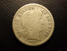 1913 s Barber or liberty head dime