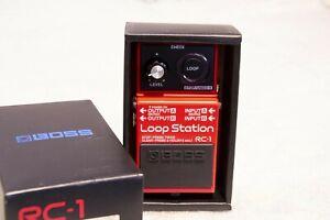 Loop Station Boss RC-1 Effetto A Pedale Per Chitarra - usato come nuovo