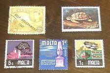 Francobolli/Stamps/Malta Pz.5