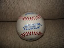 "Rawlings Official League Mlb Baseball 9"" 5oz Leather Cover Rolb2 New"