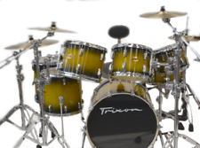 Trixon 7pc Elite Performer Drum Set - Green Sparkle