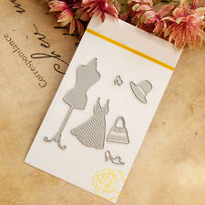 Clothes Hanger Cutting Dies Stencil DIY Cards Scrapbook Diary Gifts CraftsSR