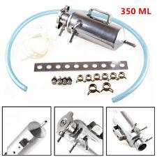 350ML Universal Car Autos Overflow Radiator Coolant Tank Reservoir Set Aluminium