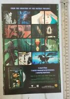 Animatrix Movie RARE Print Advertisement
