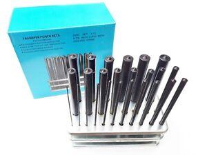 Transfer Punch 25pcs set 1mm-13mm METRIC