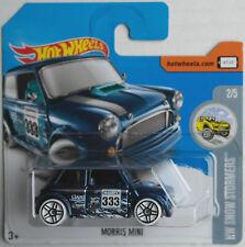 Hot Wheels Morris Mini blaumetallic Neu/OVP Kleinwagen Klassiker PKW Auto Mattel