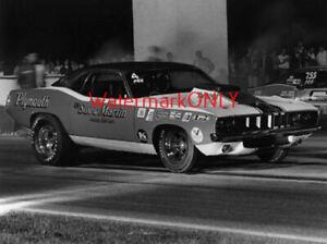 """""""Sox & Martin"""" Ronnie Sox 1971 Plymouth 'Cuda Pro Stocker PHOTO! #(23)"""