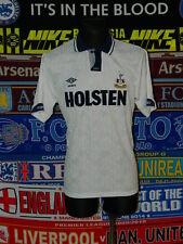 5/5 Tottenham Hotspur adults XL 1991 mint football shirt jersey trikot soccer