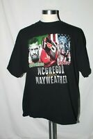 The Money Fight Mcgregor vs Mayweather Boxing Shirt 2017 2XL