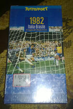 "Videocassetta/VHS "" 1982 ITALIA-BRASILE "" Tuttosport"