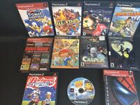 Kingdom Hearts Ps2 Lot Sonic Namco Football Wwe Rocket Power Drome Casper Shrek