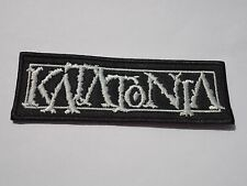 KATATONIA LOGO EMBROIDERED PATCH