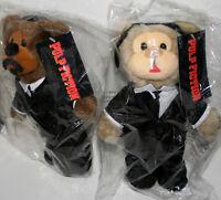 NECA Big Screen Bear Set Pulp Fiction New NOS Bag 2000's NECA Travolta Jackson
