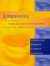 Linguistics : An Introduction to Language and Communication by Robert M. Harnish