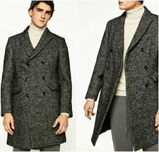 Wool Overcoat Double Breasted Coats & Jackets for Men