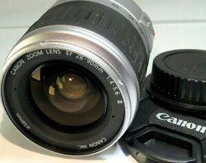 Canon EF 28-90mm f4-5.6 II Silver Lens for digital rebel T7i SL3 90D 80D cameras