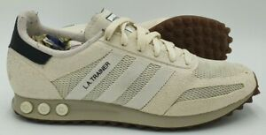Adidas Originals LA Trainer OG Suede/Mesh Trainers BY9321 White UK8/US8.5/EU42