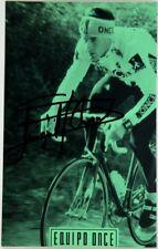 (C2/1017) Cartolina Ciclismo Miguel Angel Martinez Autografo Originale – Equipo