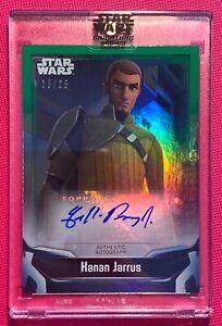 Star Wars Signature Series 2021, Freddie Prinze Jr (Kanan) Autograph Card #15/25