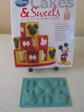EAGLEMOSS DISNEY CAKES & SWEETS  MIKEY MOUSE MOTIFS SILICONE MOULD No 62  NEW