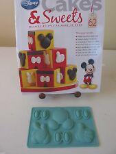 Eaglemoss disney cakes & sweets mikey souris motifs moule silicone nº 62 nouveau