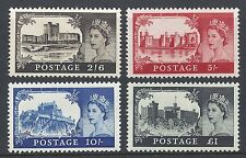 Sg 759-762 1967 No watermark castles Unmounted mint/MNH