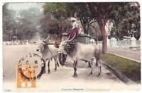 Malaya STRAITS SETTLEMENTS-SG#157(single frank)-SINGAPORE 24/AP/1911-postcard