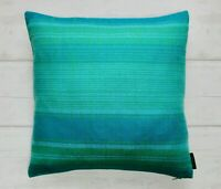 Vintage 60s 70s Striped Cushion Cover. Retro Pillow Case, Recycled Home Gift