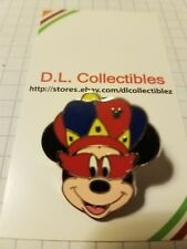 Disney Mickey Mouse Hidden Mickey Mouse Mardi Gras Pin