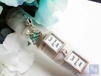 2 Double Sided Wedding Bouquet Photo Memory Charm Wedding Bouquet