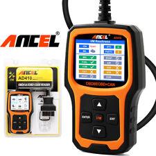 ANCEL AD410 Read Clear Fault Error Codes Reader NEW Original Car Diagnostic Tool