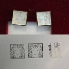 Lalique  orecchini cristallo MASQUE DE FEMME