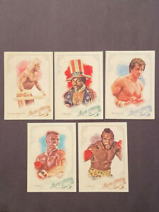 2015 TOPPS ALLEN & GINTER ROCKY MOVIE SET LOT (5) DRAGO HOGAN CLUBBER CREED *QTY