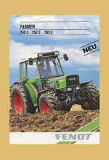 Fendt Farmer 240 S 250 S 260 S   Schlepper Original 1987