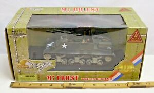 21st CENTURY TOYS M-7 PRIEST HOWITZER TANK WWII MODEL 1/32 BOXED NEW 99348