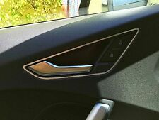 Audi TT MK3 quattro S-line 8S TTs TTRs alu trim frame for door opener interni