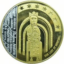 More details for europa medal andorra our lady of meritxell    #wt18510