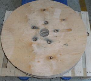 für Stehtisch: ca. 75 cm Tischplatte Holzscheibe rund Holzplatte Leimholzplatte