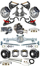 "NEW 2"" DROP SUSPENSION & WILWOOD BRAKE SET,CURRIE REAR END,ARMS,POSI GEAR,646673"