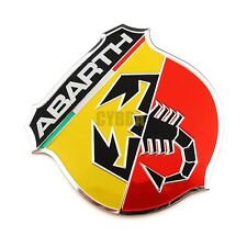 1 Pegatinas de vinilo auto coche Abarth (Fiat) Scorpion Tuning Carrera Rally Ruedas De Bicicleta